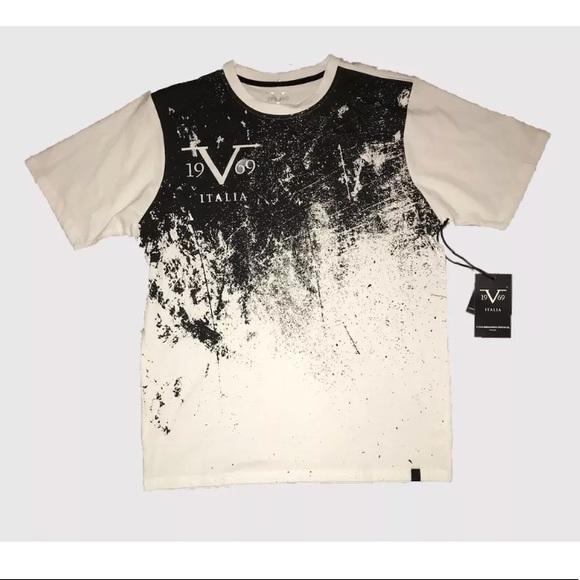 d3c7ec74 Versace Shirts | New 19v69 Splatter Paint Design Shirt Xl | Poshmark